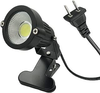 防水 led クリップライト 7W (60W相当) 昼白色 コード長3m ledクリップライト ledライト 店舗 屋外 照明 看板 間接照明 電気スタンド デスクスタンド