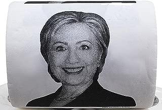 Hillary Clinton Toilet Paper- Funny-Novelty-Political Toilet Paper Roll-300 Sheets Novelty Toilet Paper