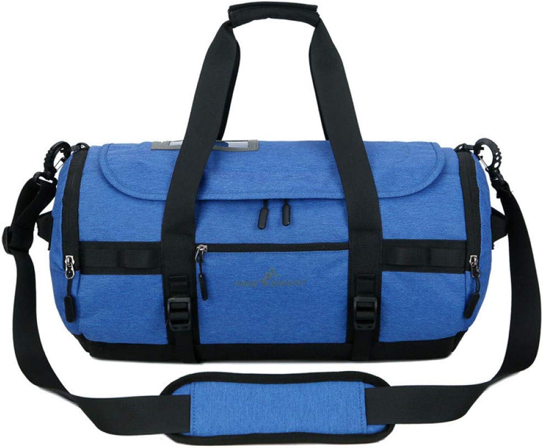 Groe Katzen-Reisetasche, wasserdicht, Diebstahlschutz, Fitnesstasche, Fuball-Trainingspaket, blau (Mehrfarbig) - 1359876240201
