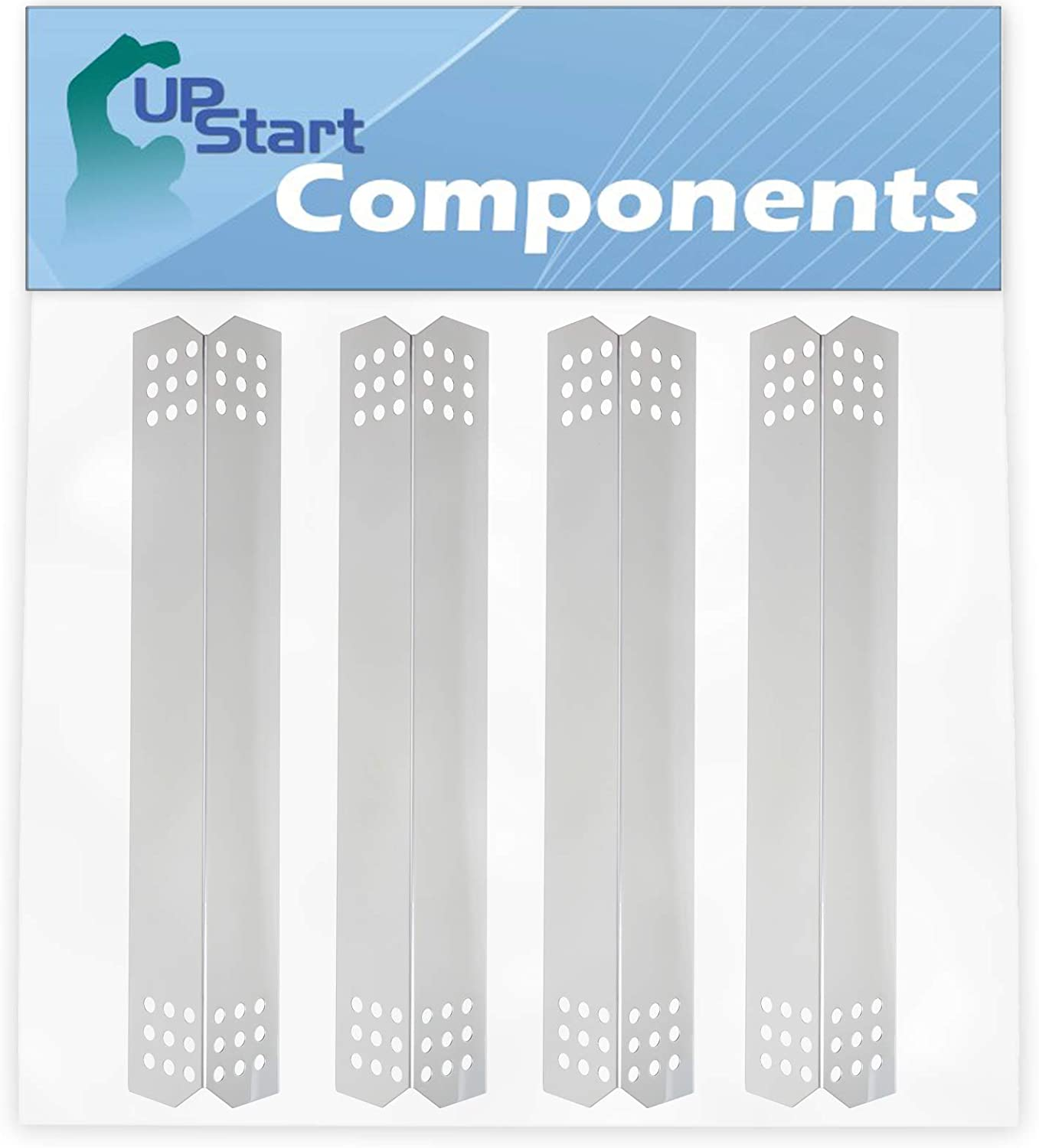 4-Pack BBQ Grill Heat Shield Plate Brand new Tent Je Parts for Replacement Popular brand
