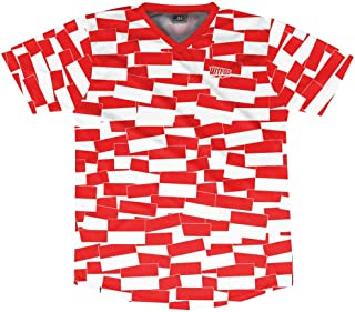 Ultras Indonesia Party Flags Soccer Jersey