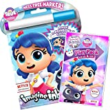 True and The Rainbow Kingdom Coloring Book Set -- Imagine Ink Book and Play Pack (Party Pack)