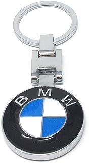 For-BMW-Power-Car-Logo-Titanium-Key-Chain-keychain-Ring-Keyfob-Metal-Keyrings