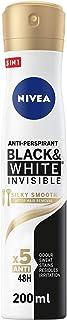 Sponsored Ad – NIVEA Black & White Invisible Silky Smooth, Antiperspirant for Women, Spray 200ml