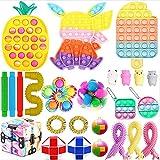 NMTUHAO Fidget Toy Set, Juguete sensorial Barato, Fidget Toy Set para niños Adultos, Juguete de descompresión con Push Pop Bubble Infinite Cube, Stress Relief Sensory Squeeze Toy (Fidget Toy#3)
