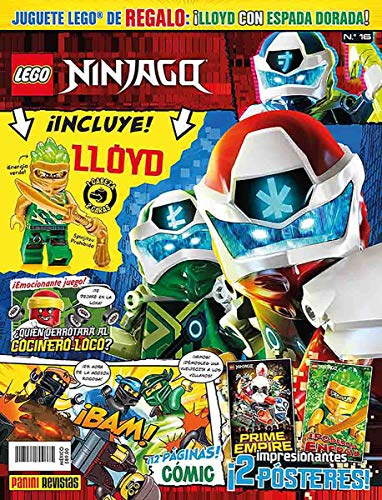 Lego Ninjago Lloyd marca Lego Revistas