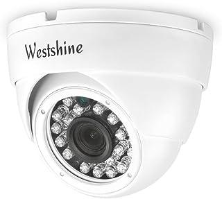 Westshine Security IP Camera, 2MP POE (Power Over Ethernet) IP Camera, Home Surveillance Dome Intdoor Outdoor Network CCTV...