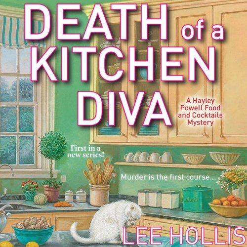 Death of a Kitchen Diva audiobook cover art