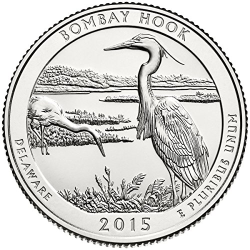 2015 P Bankroll of 40 – Bombay Hook National Park Quarter Uncirculated