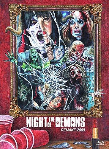Night of the Demons - Remake 2009 - Uncut / Limitiert auf 444 Stück - Mediabook Cover A  (+ DVD) [Blu-ray]