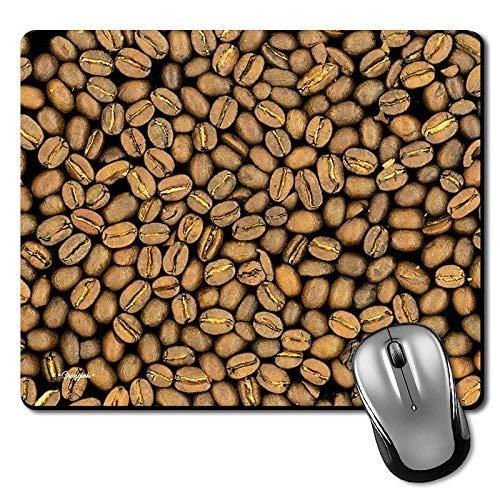 Kaffeebohnen Premium Printed Designer Mouse Pad | Gaming Mouse Pad | HD-Druck | Ultimativer Griff | Wasserdichte Beschichtung | Spieleliebhaber | Perfekt für Home & Office | Anti Skid | Schlankes