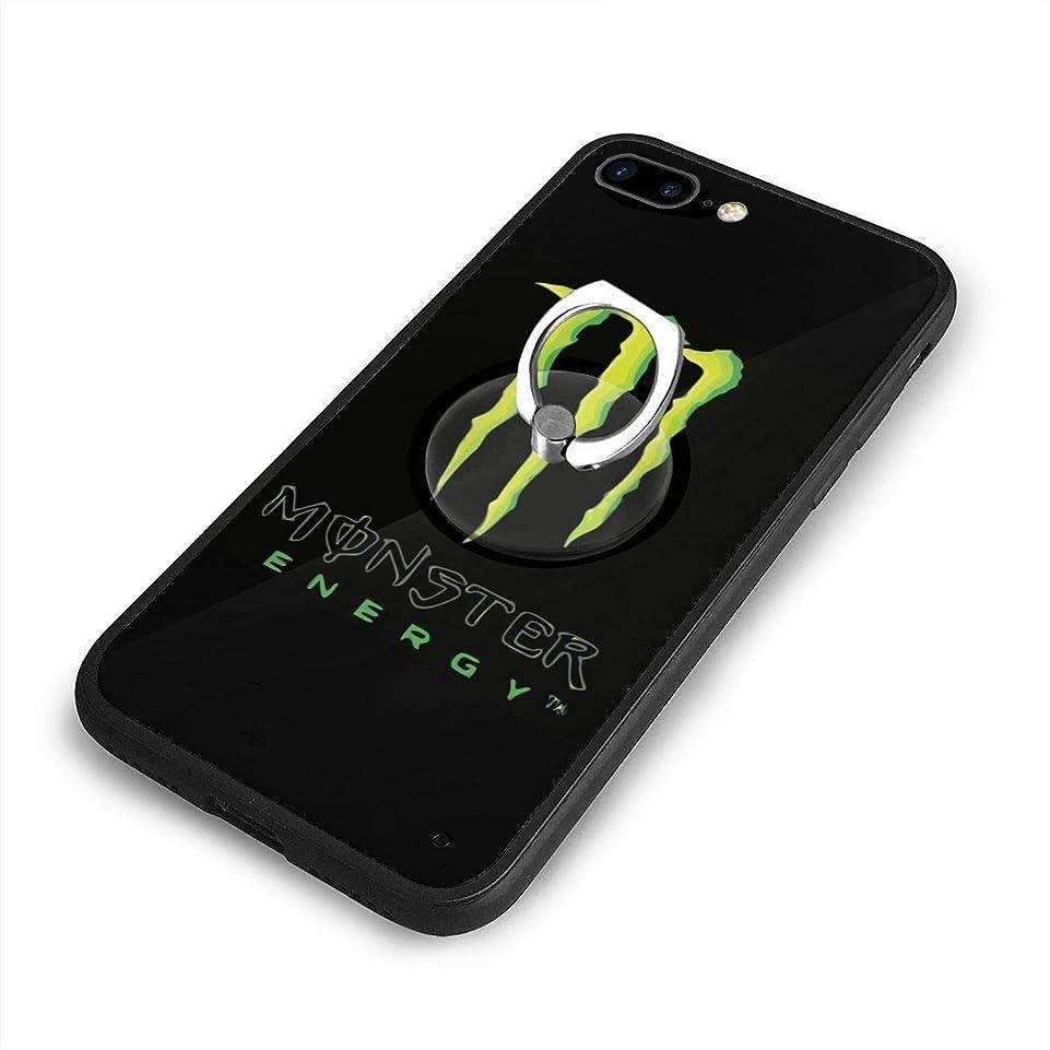 エレガント北へアンテナMonster Energy モンスターエナジー ロゴ 飲み料iPhone 7/8 Plusケースリングブラケット 携帯カバー 創意デザイン軽量 傷つけ防止 360°回転ブラケット 携帯ケース PC 衝撃防止 全面保護