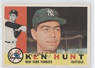 Ken Hunt (Baseball Card) 1960 Topps - [Base] #522