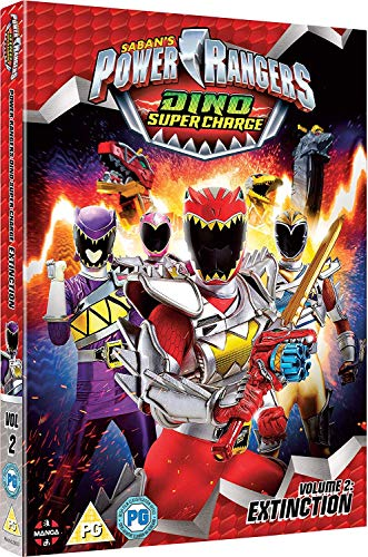 Power Rangers Dino Super Charge: Vol 2 - Extinction (Episodes 11-20) [2 DVDs] [UK Import]