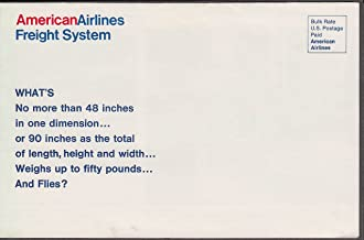 American Airlines Priority Parcel Service airline mailer Bradley CT 1970s