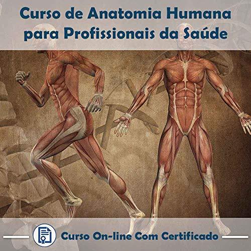 Curso Online de Anatomia Humana para Profissionais da Saúde com Certificado