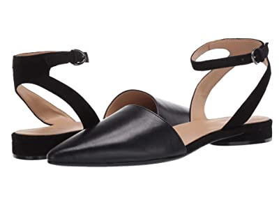 Naturalizer Hartley (Black Leather/Suede) Women