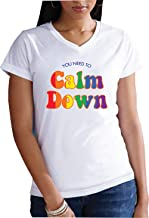 You Need to Calm Down Ladies V-Neck T-Shirt