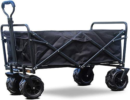 Dongyd Augmentez la capacité de Traction du Camping Sac de Camping Portable de Grande capacité pour Le Sac de Rangement (Couleur   Noir)