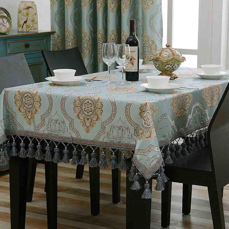 Tischdecke rechteckigen Stoff Wohnzimmer Hause Esstisch Tuch Tee Tischdecke Runde groe Tisch Matte , 005 , 140160cm