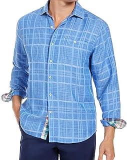 Tommy Bahama 長袖サンドリネン 砂丘キャンプシャツ