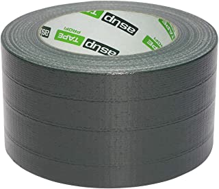 asup TAPE PROFI - Gewebeklebeband - 72 mm x 50 m, grün - Klebt innen und außen - Wasserfest beschichtet - von Hand reißbar