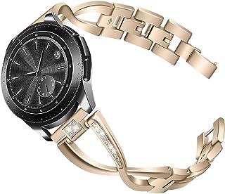 Watch Band,Cinhent Stainless Steel Wrist Strap Bracelet for Samsung Galaxy Watch 46mm