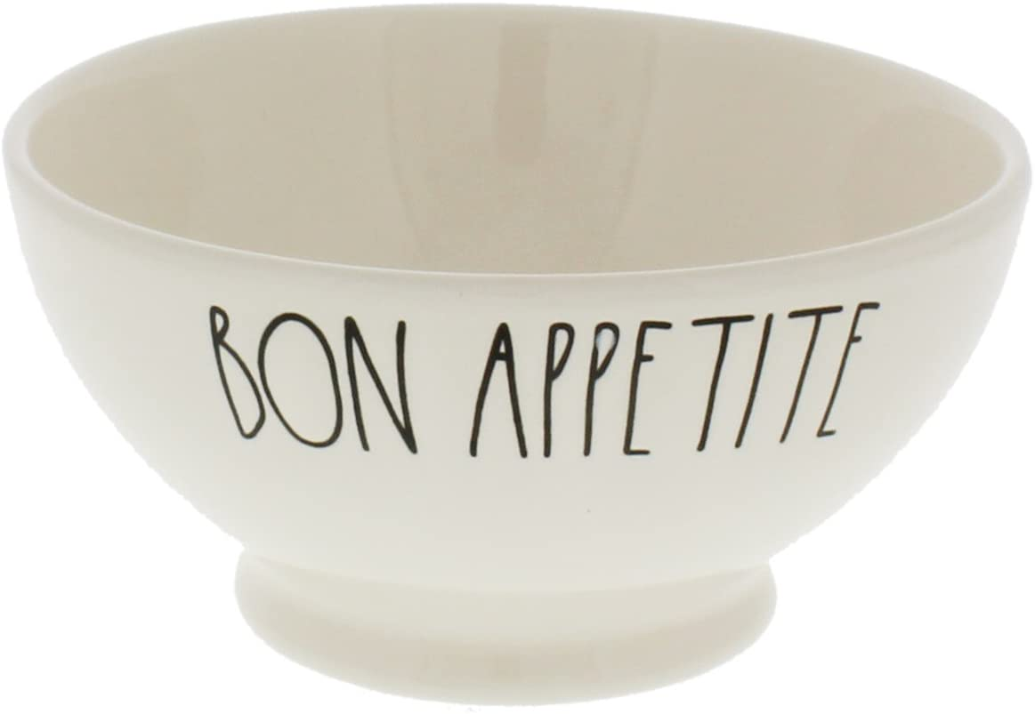 Rae Dunn by Magenta Sales results No. 1 BON APPETITE Cream Ice Ranking TOP19 Bowl Cereal