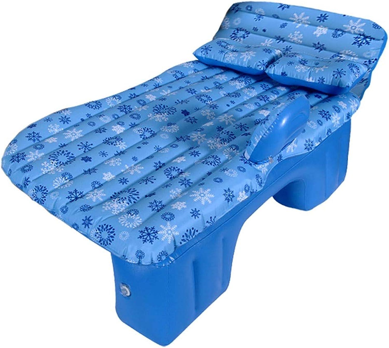 Rcc Auto Luft Aufblasbare Reisebettmatratze für Universal SUV Auto Rücksitz Sofa Camping Schlafmatte mit Block (Farbe   A)