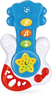 Baby Play Guitar. Educational Music Learning and Lighting Entertainment. for Ages 9 Months to 4 Years