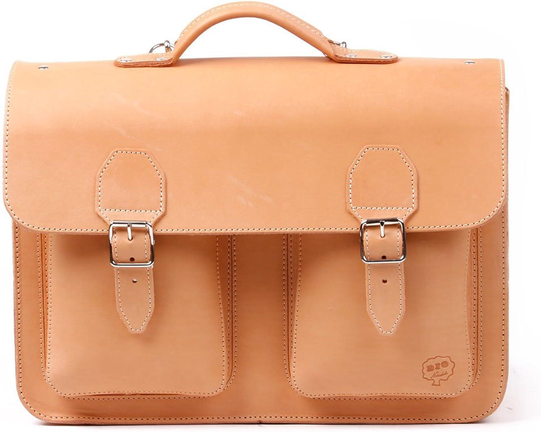 Leder-Schultasche   Schulranzen aus BIO-Naturleder 4 156 156 156 K B008FLD3XC | Die Qualität Und Die Verbraucher Zunächst  d6e28f