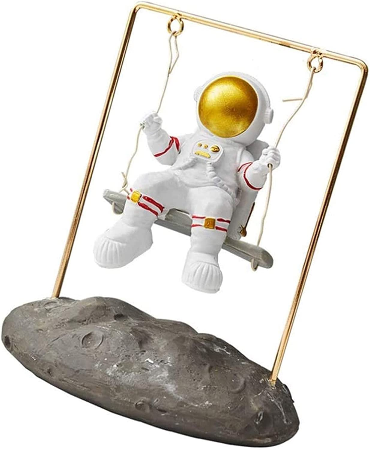LQX Bombing free shipping Statue Astronaut Figurine And Sculpture Creat In a popularity Spaceman Swing