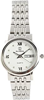 Analog Stainless Steel Watch For Women by Olivera, OL5018