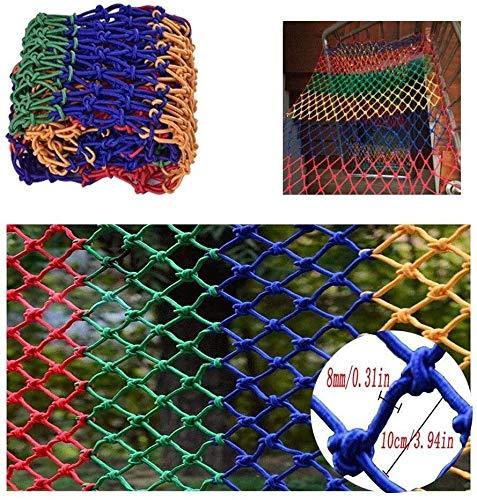 Protective Net Decoratie/Kleur van het vangnet 1-10 m ladder veiligheidsnet en handgeweven dakbedekking, netafdekking, decoratie buitenshuis, net en kattennet