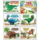 World of Dinosaur Roar Collection 6 Books Set (Dinosaur Roar, Ten Terrible Dinosaurs, Dinosaur Munch The Diplodocus, The Tyrannosaurus rex,Dinosaur Stomp The Triceratops,Dinosaur Boo The Deinonychus)