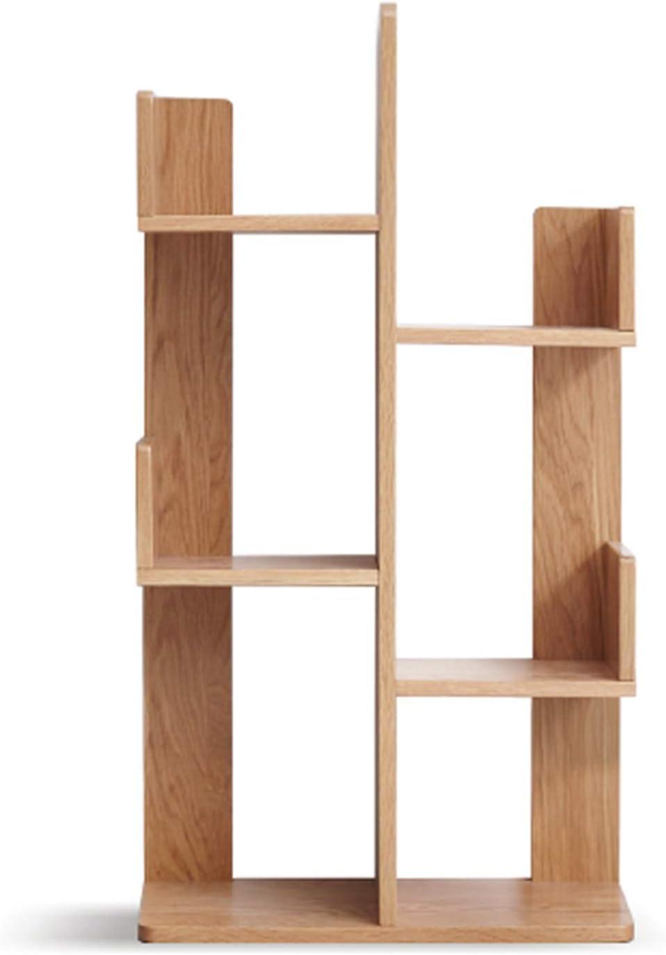 Bookshelf Wooden 3-Tier Courier shipping free Freestanding Under blast sales Mu Floor Standing