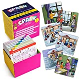 Spark Cards Sequence Cards for Storytelling and Picture Interpretation Speech Therapy Game, Special Education Materials, Sentence Building, Problem Solving, Improve Language Skills