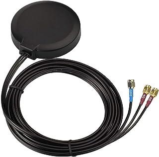 Bingfu Antena de 4G LTE MIMO Celular y GPS Soporte de Magnético Adhesivo para 4G LTE GPS Cradlepoint IBR900 IBR1700 Sierra...