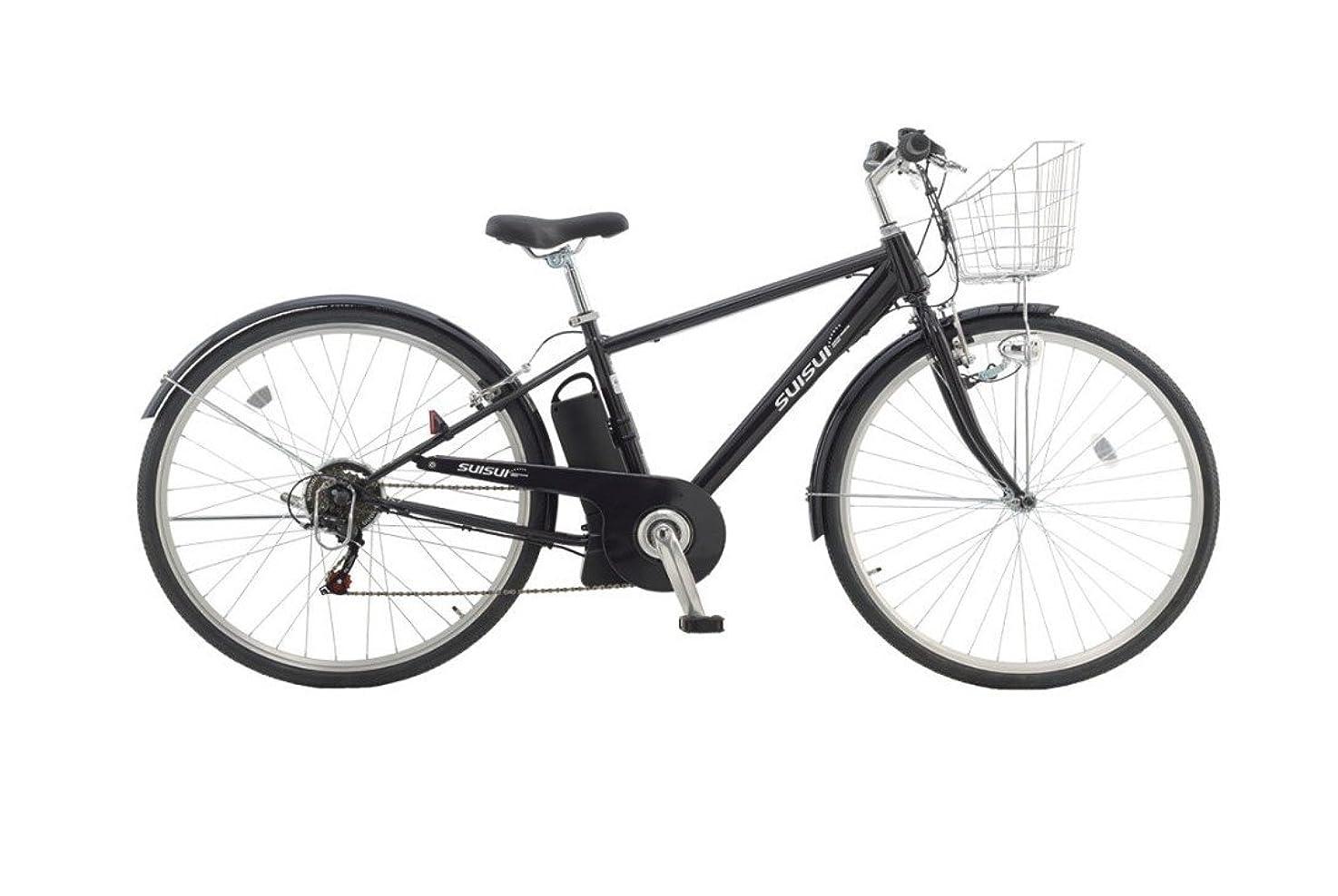 三番勃起感度KAIHOU(カイホウジャパン)  電動アシスト自転車27インチ クロスバイク ブラック KH-DCY06 ブラック