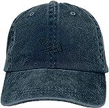 Gorra de béisbol ajustable de algodón lavado vintage lavado para papá con diseño de voleibol de playa, gorra de béisbol, sombrero de sol al aire libre, azul marino