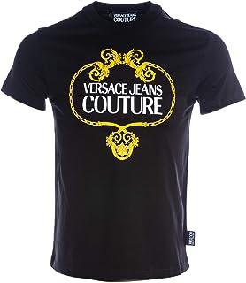 VERSACE JEANS COUTURE Mens Baroque Wreath Logo T Shirt