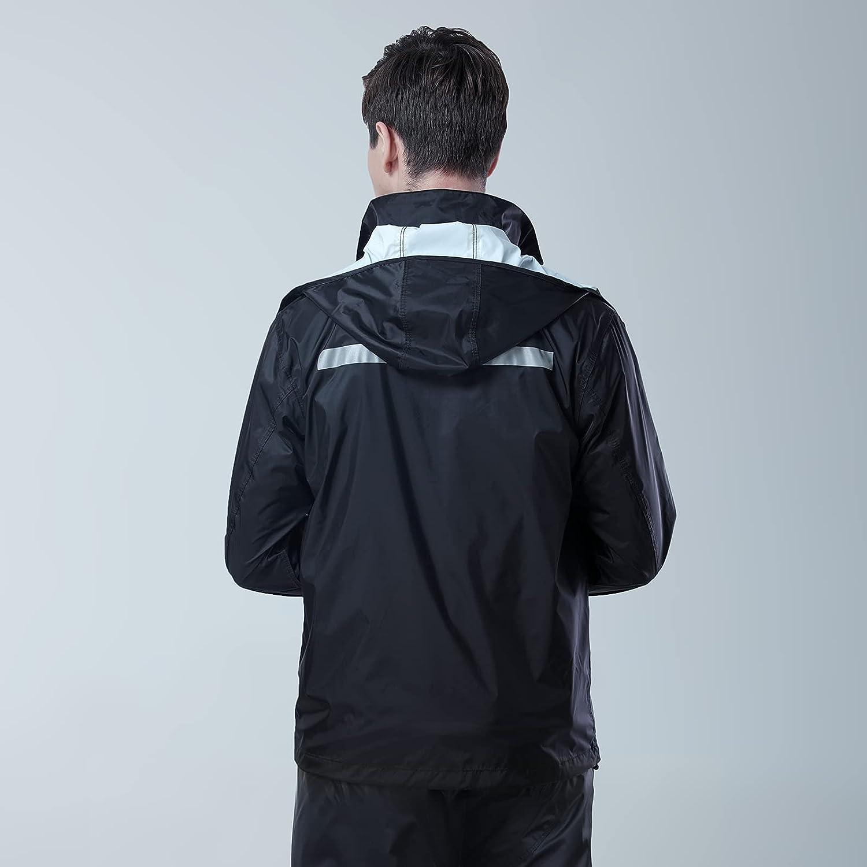 Gparllord Unisex Watertight Rain Suit, Ultra-Lite Breathable Rain Gear
