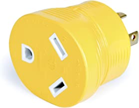 Camco 55338 PowerGrip 30 Amp 4-Prong Generator Adapter