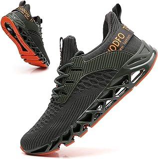 TSIODFO أحذية رياضية للرجال أزياء رياضة الجري أحذية التنس المشي