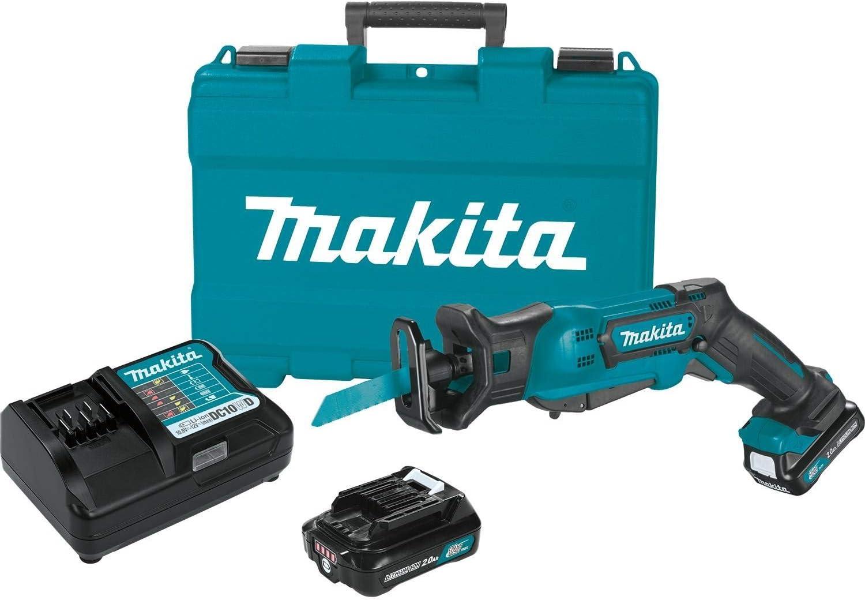 Makita RJ03R1 favorite 12V Max Max 79% OFF CXT Recipro Lithium-Ion Saw Cordless Kit