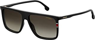 Men's 0807 Black/Brown Gradient Lens Rectangular Men's...