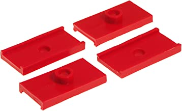 Prothane 26-47084 Red Rear Spring Pad Kit