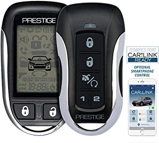 Prestige APS997Z Two-Way LCD Confirming Remote Start & Alarm 1-Mile Range