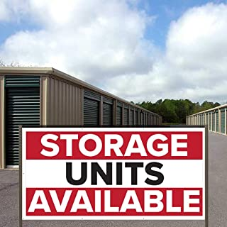 VictoryStore Business Banners: Storage Units Available Banner 3' x 6' Vinyl Banner