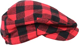 Baby and Toddler Plaid Cabbie Driver Hats